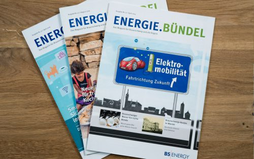BS Energy Energie.Bündel Magazin Cover